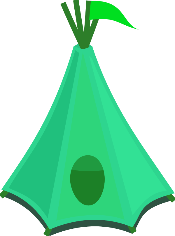 600x810 Tent Camping Clipart Kid 2