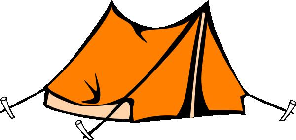 600x284 Camping Tent Clipart Black And White Orange Tent Hi K106