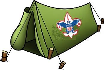 347x233 Tent Clipart Cub Scout