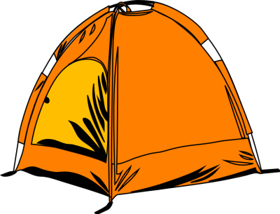 400x305 Tent Clipart Out