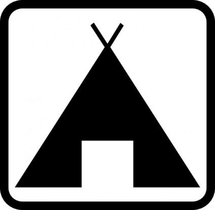 425x415 Tent Clip Art