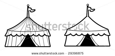 450x221 Circus Clipart Marquee Tent