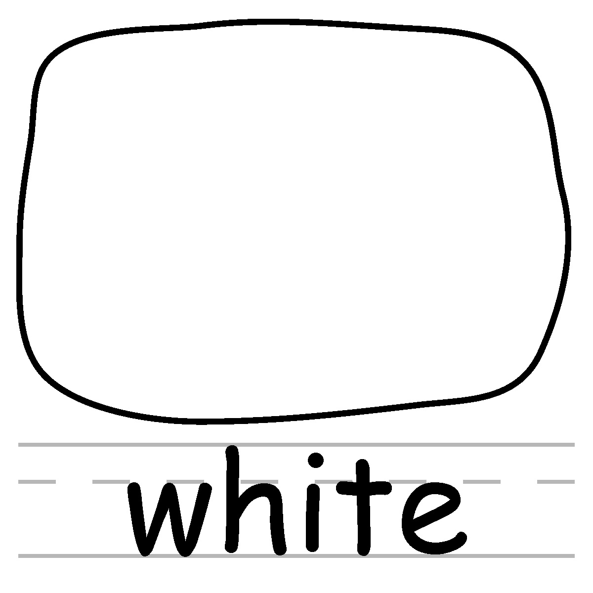 1200x1200 Black And White Color Clipart