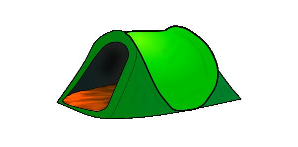 600x296 Clip Art Of Tents Tent Clipart Panda