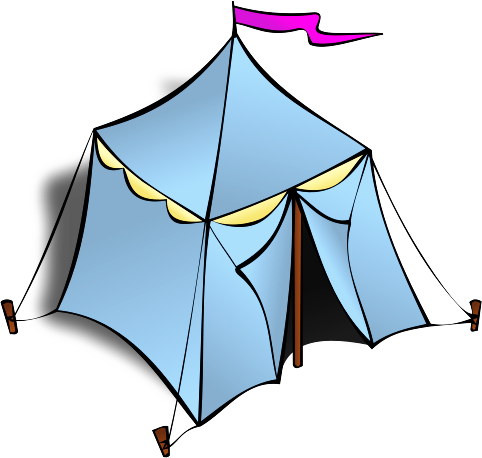 482x458 Free Tent Clipart