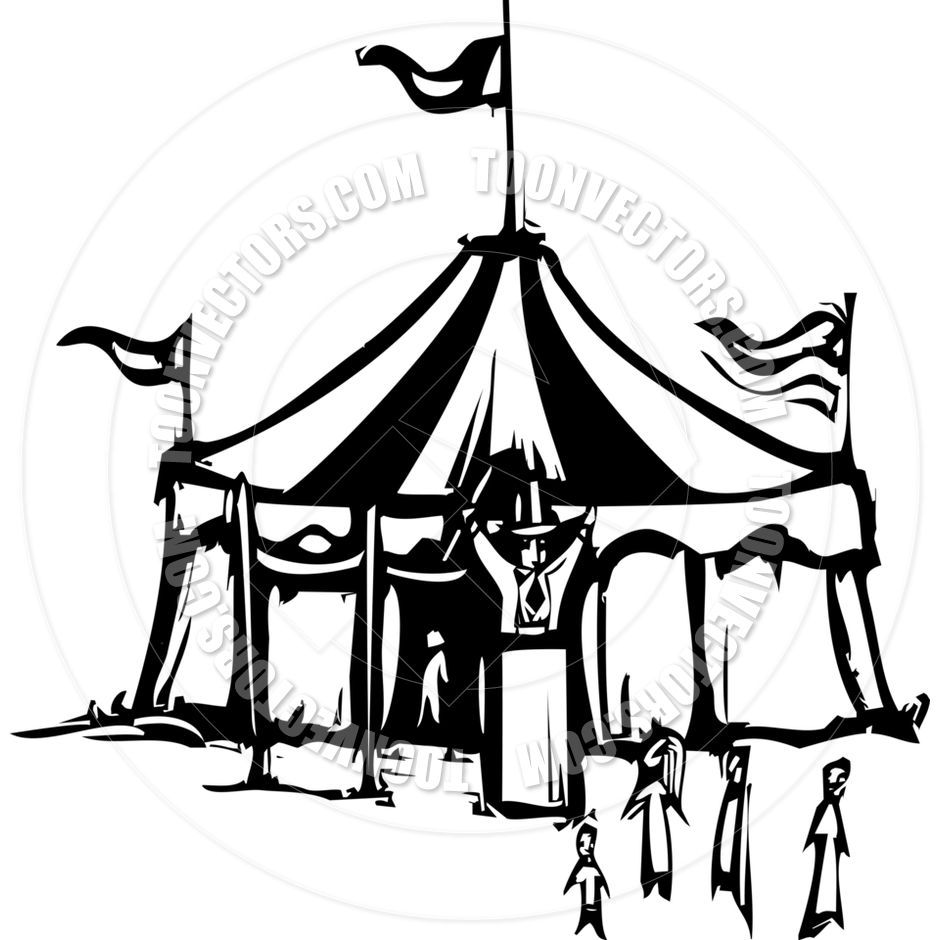 940x940 Free Tent Clipart Black And White Image
