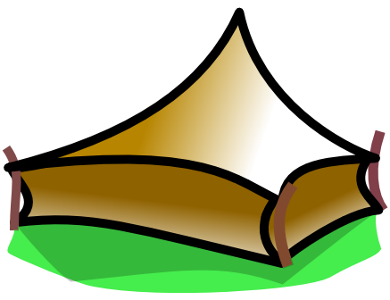 437x336 Free Tent Clipart Clip Art Image 3 Of 4