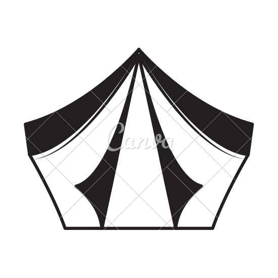 550x550 Camping Tent Icon