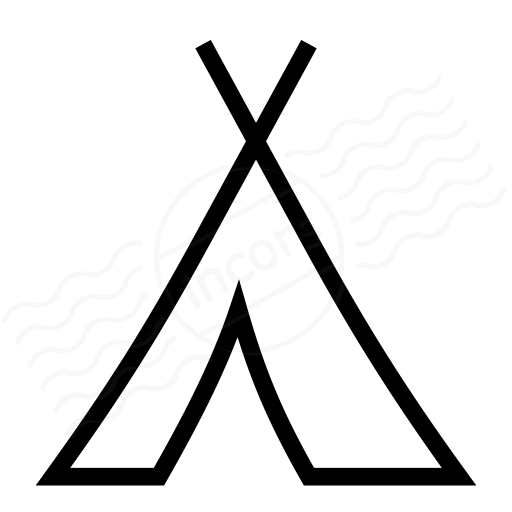 512x512 Iconexperience I Collection Tent Icon