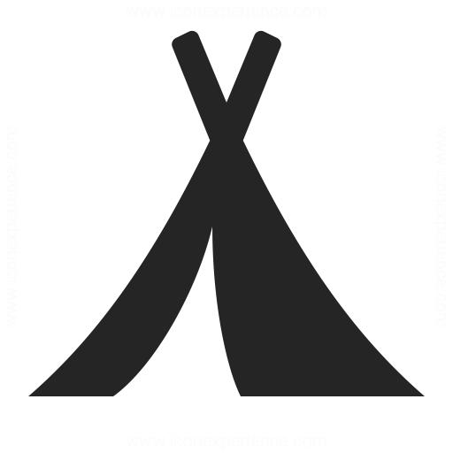 512x512 Tent Icon Iconexperience