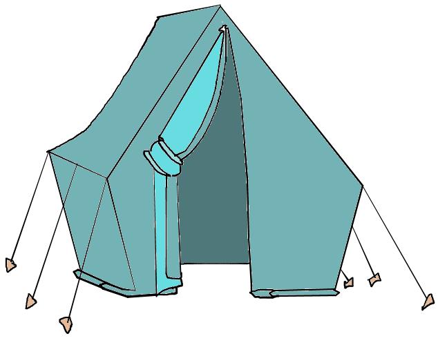 634x500 Tent Clipart Pink Tent