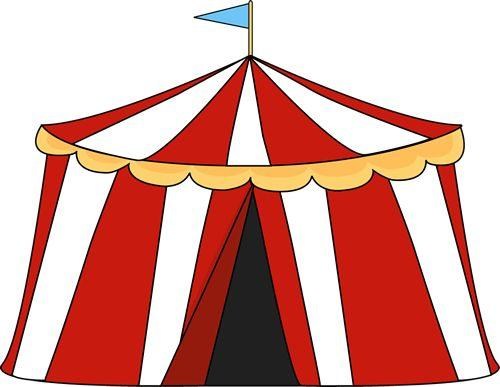 500x387 Fair Tent Clipart