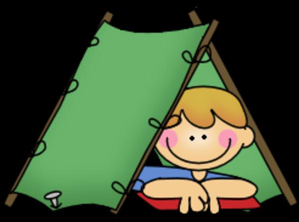600x446 Girls Camp Clipart