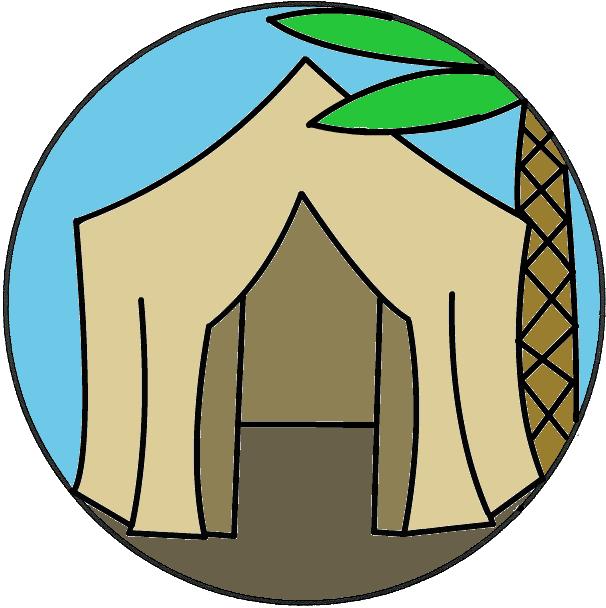 606x608 Abraham Tent Clipart