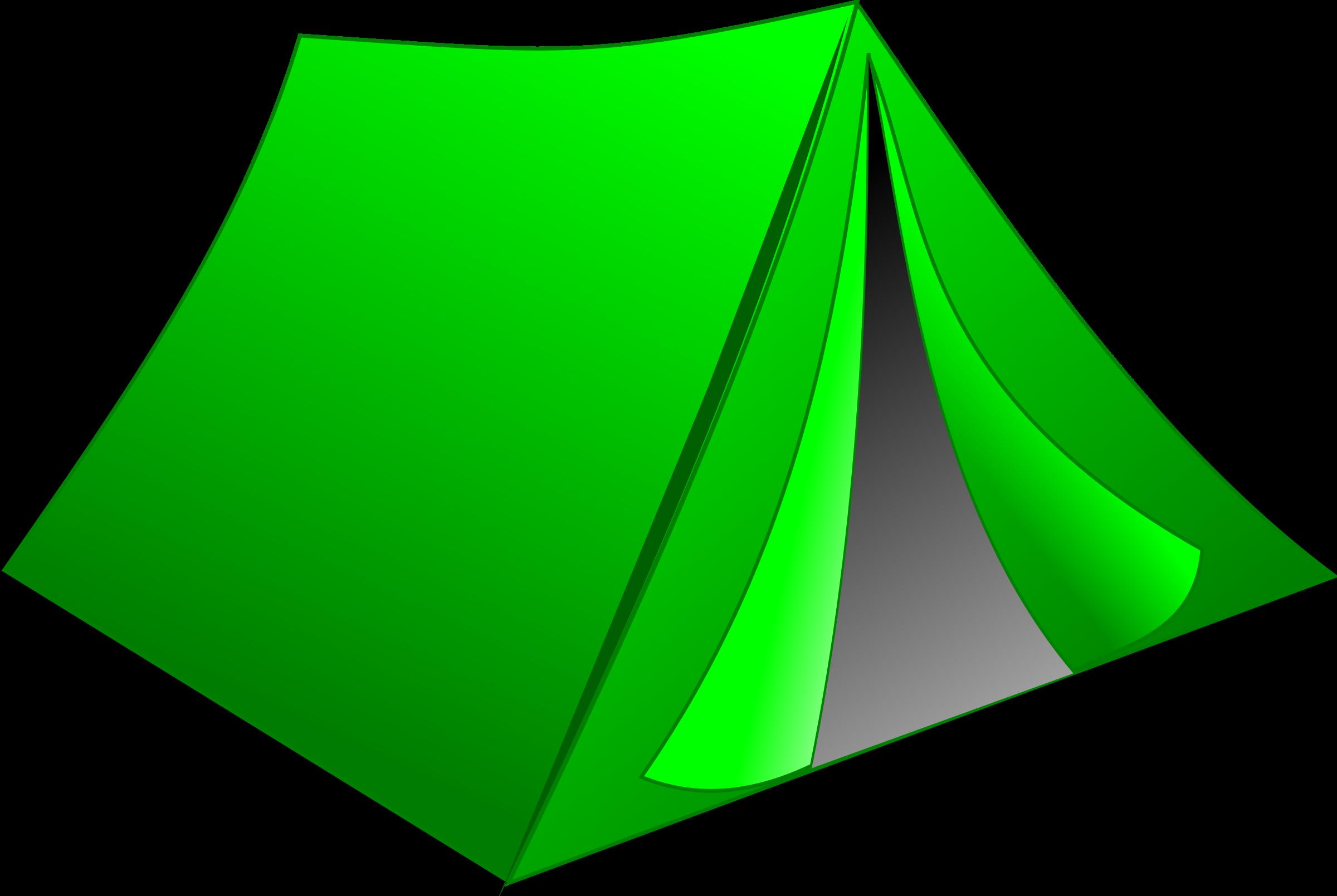 2400x1609 Green Tent Clipart