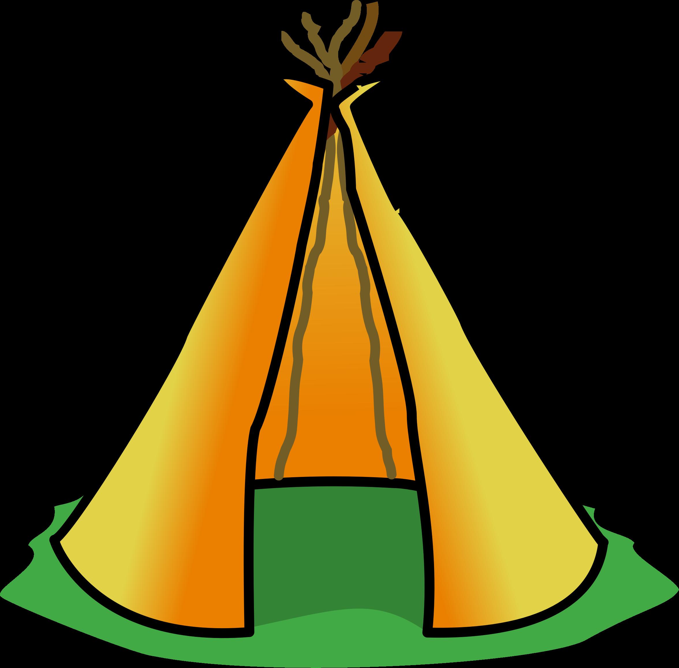2353x2314 Native Tent Clipart