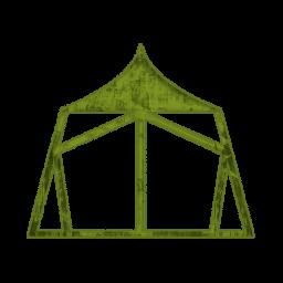 256x256 Tent Symbol Clip Art
