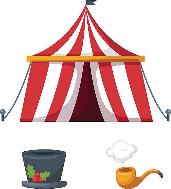 554x612 Tent Clipart Colorful