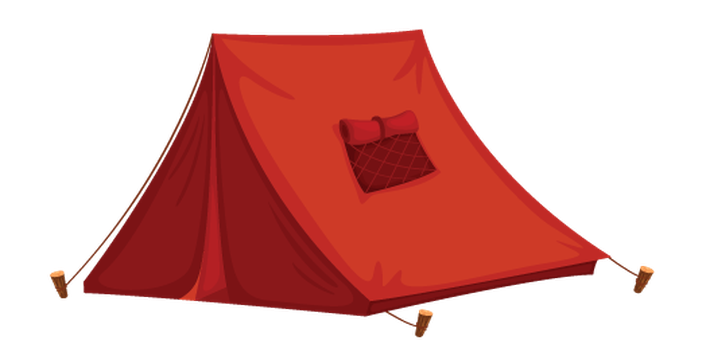 710x352 Various Objects Of Camping Tent Clipart Health And Physical Image