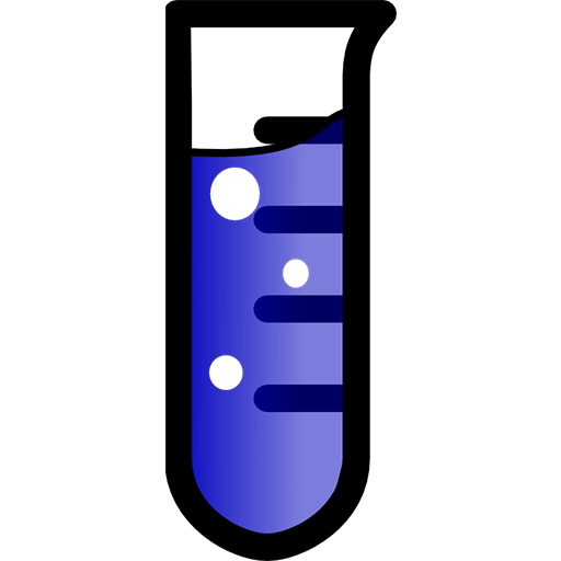 512x512 Laboratory Test Tube Clipart Image