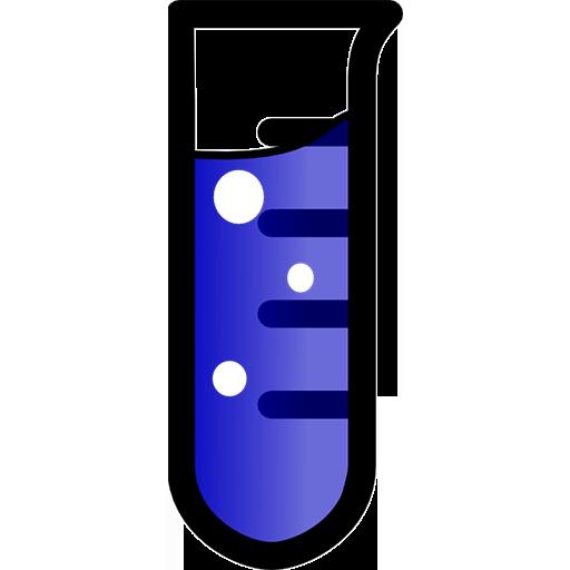 512x512 Laboratory Test Tube Clipart Image