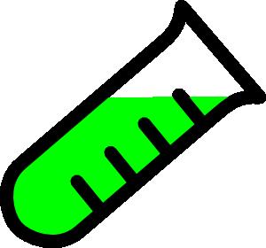 300x280 Graded Test Tube Clip Art