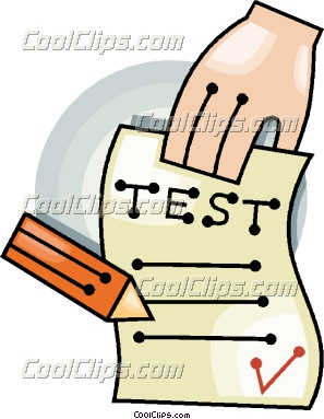 297x383 Test Results Clipart