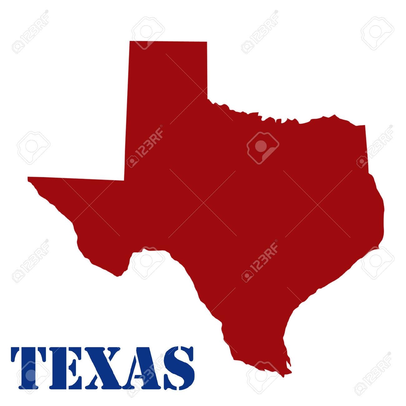 1300x1300 Dallas Texas Map Clip Art Cliparts