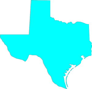 300x288 Texas Clip Art