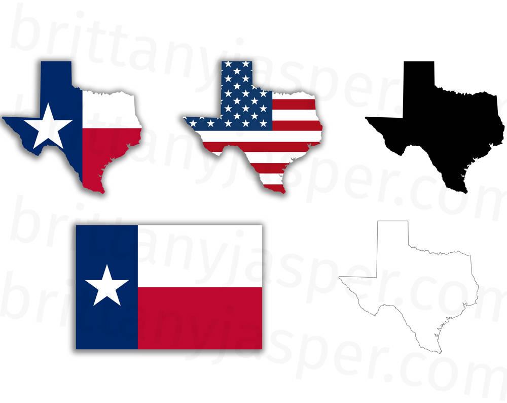 1000x794 Texas State Flag Svg Vector Clip Art