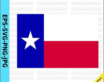 340x270 Texas Flag Art Etsy
