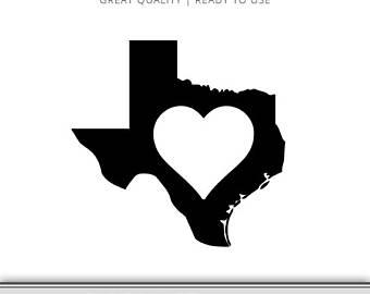 340x270 Texas Flag Heart State Graphic Texas Svg Houston Dallas