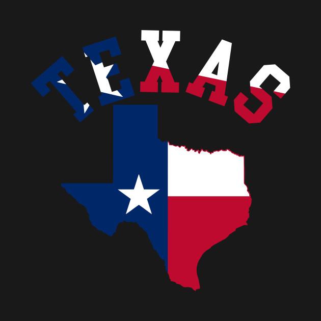 630x630 Texas State Silhouette Design Art Flag Patriotic