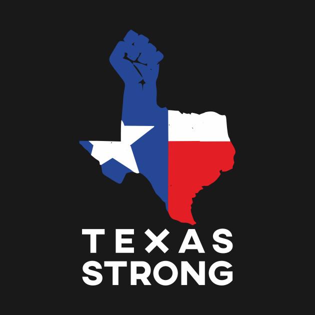 630x630 Texas Strong Design Art With Texas Flag