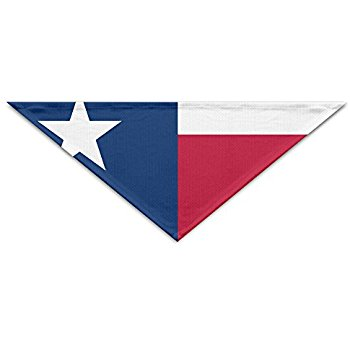 350x350 Texas Flag Dog Bandana