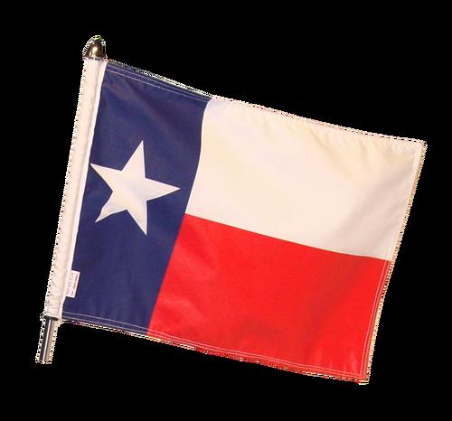 500x466 Texas Motorcycle Flag