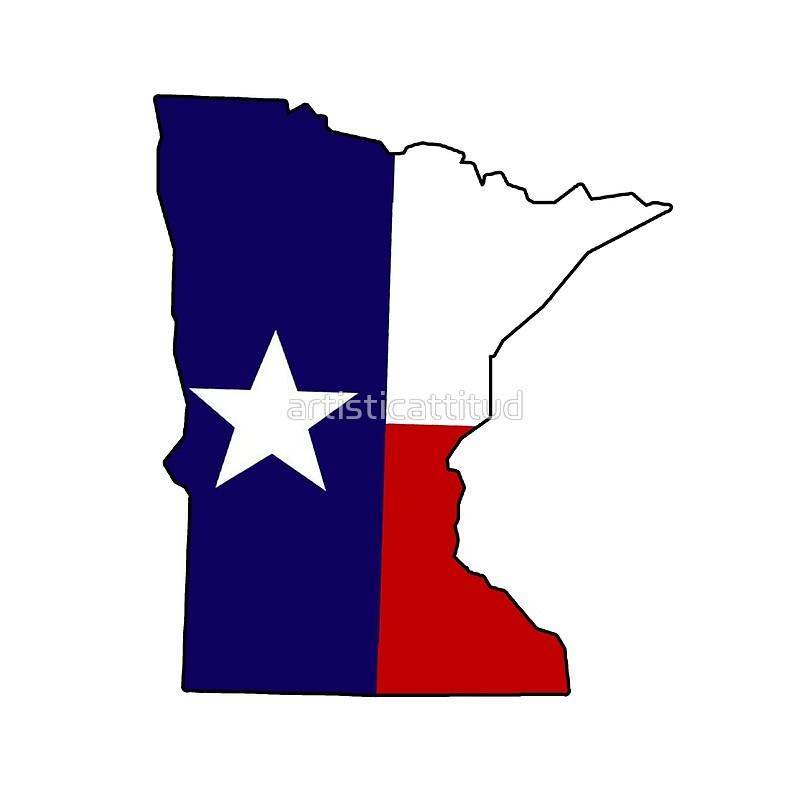 800x800 Texas Flag Minnesota Outline Tote Bags By Artisticattitud Redbubble