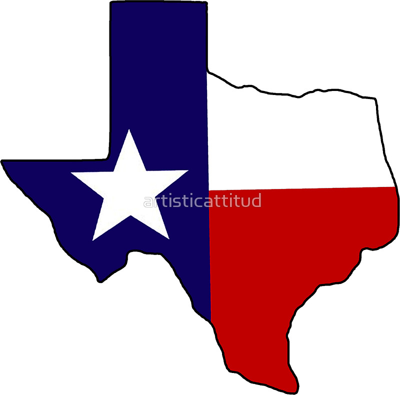 800x790 Texas Flag State Outline Stickers By Artisticattitud Redbubble
