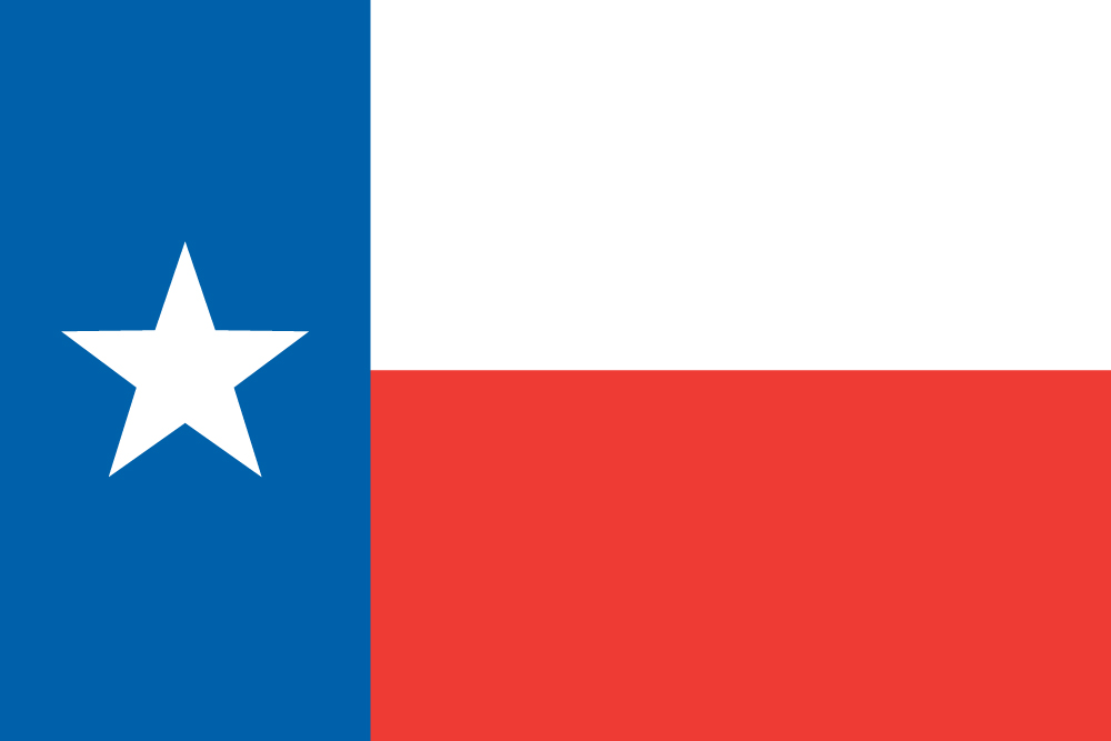 1000x667 Texan Flag (Flag Of Texas)
