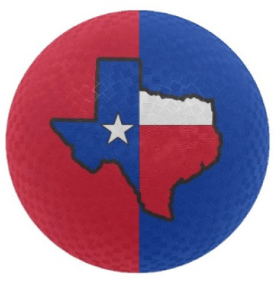 393x413 Texas Flag 8.5 Playground Ball Baden Sports