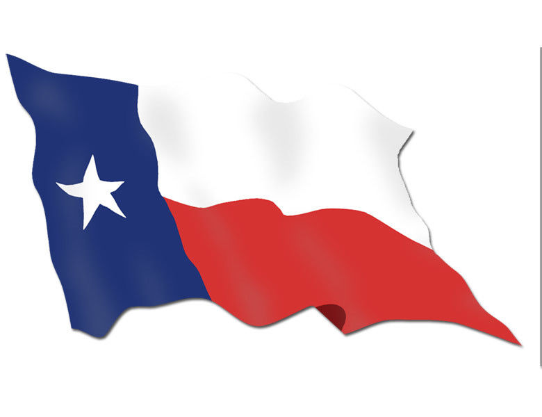 780x600 Clipart Of The Texas Flag