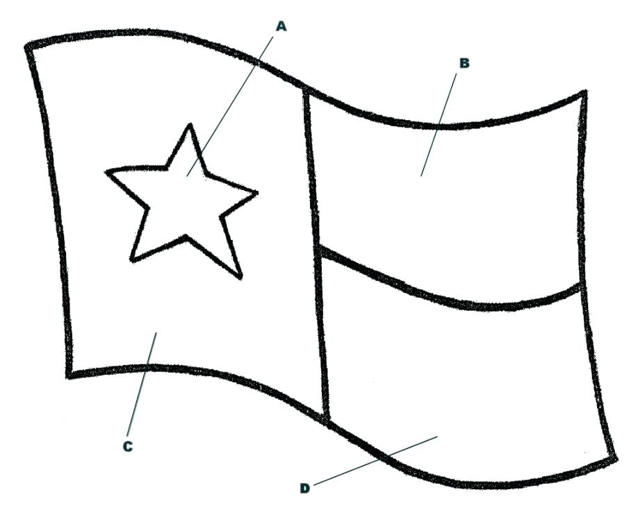 Texas Flag Outline | Free download on ClipArtMag