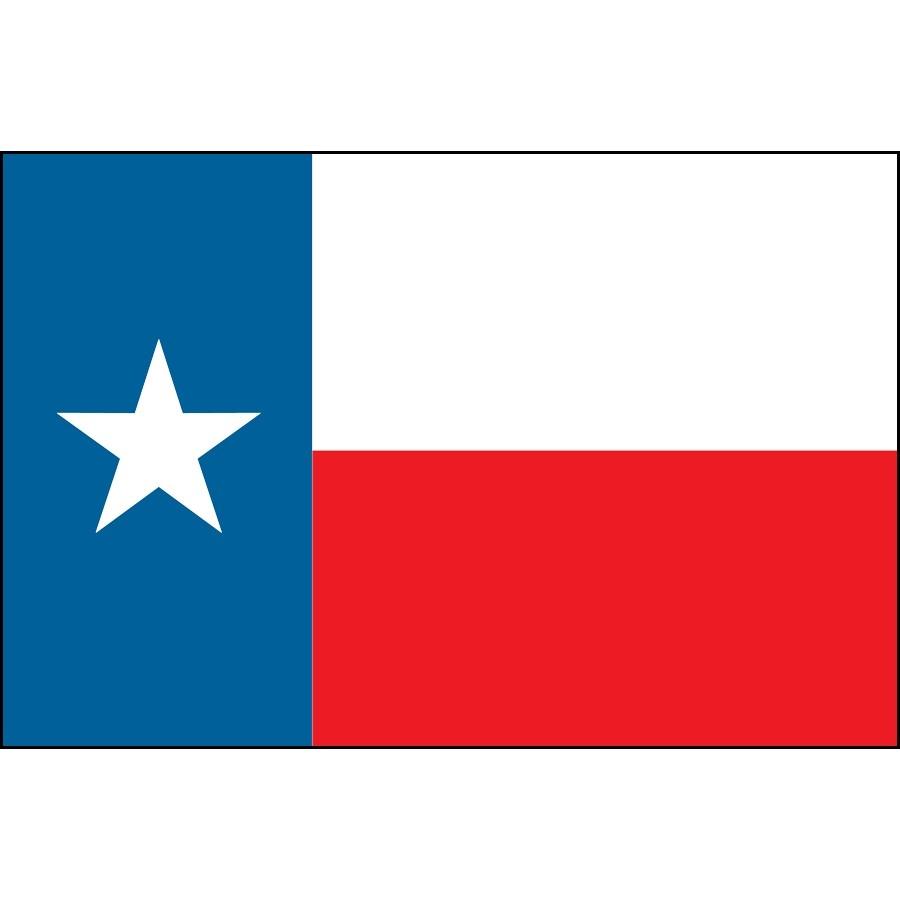 900x900 Texas Flag Clipart