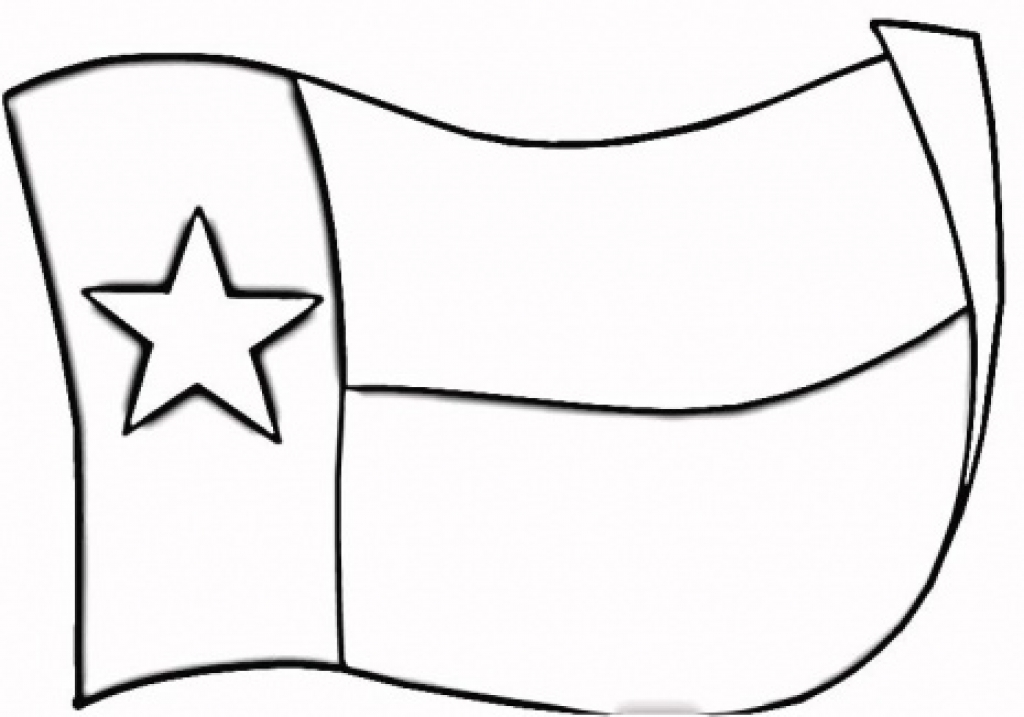 1024x717 Texas State Coloring Page Clipart Best Inside Texas Flag Coloring