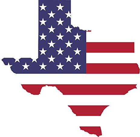 463x451 Pack Of 2 Texas Car Decal Bumper Sticker Vinyl Flag