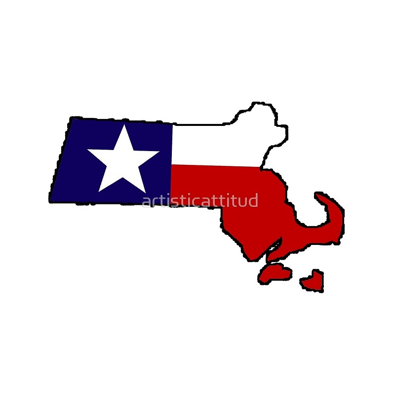 800x800 Texas Flag Massachusetts Outline Tote Bags By Artisticattitud