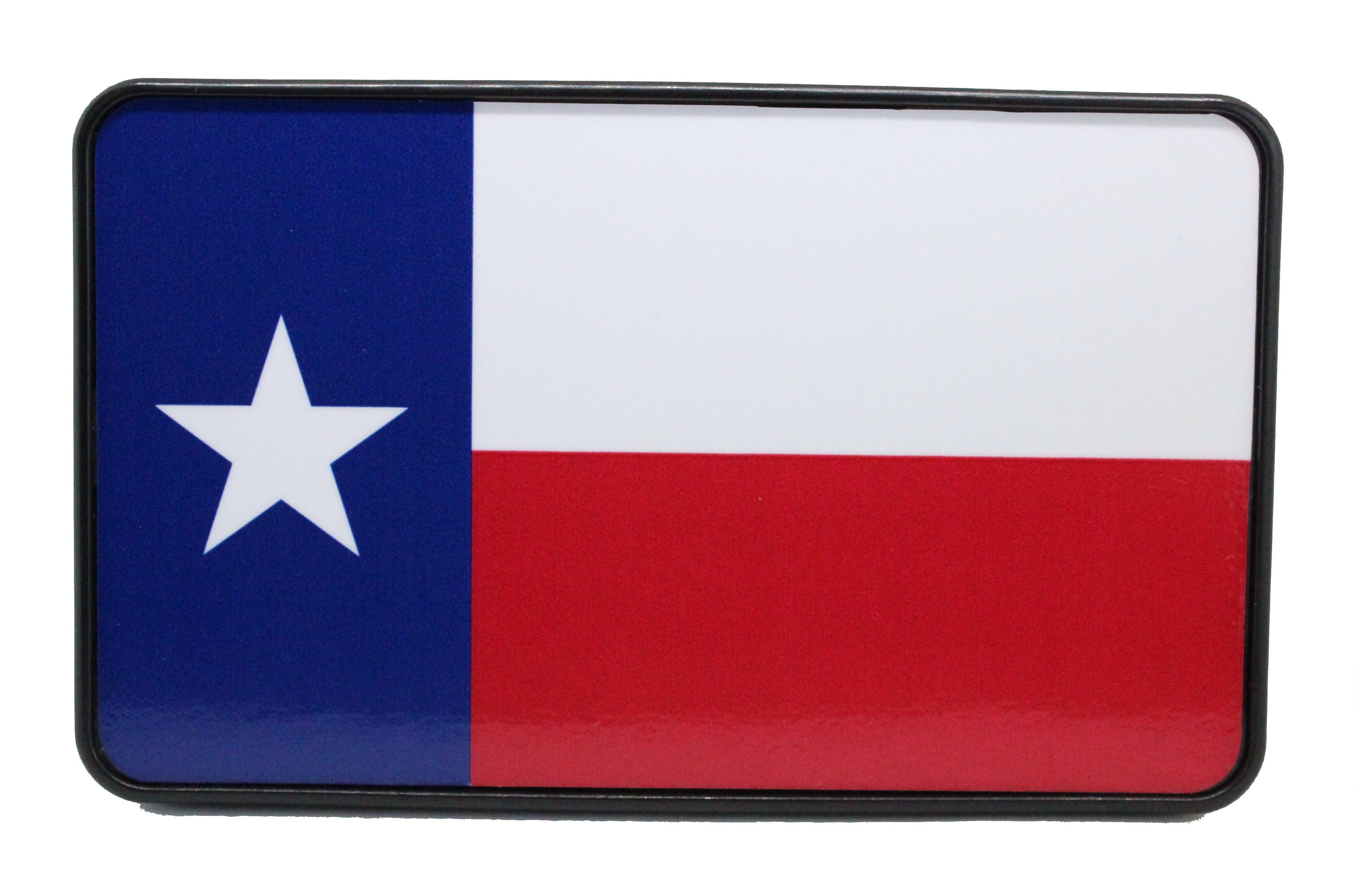 3957x2617 Texas Flag Hitch Cover Bright Hitch
