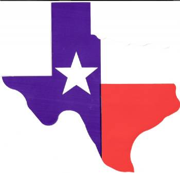 350x338 Large Magnet Texas Flag In The Shape Of Texas In Bumper Stickers
