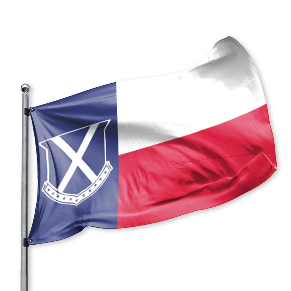 1000x1000 Miller's Point Old Row, Texas Flag Miller's Point