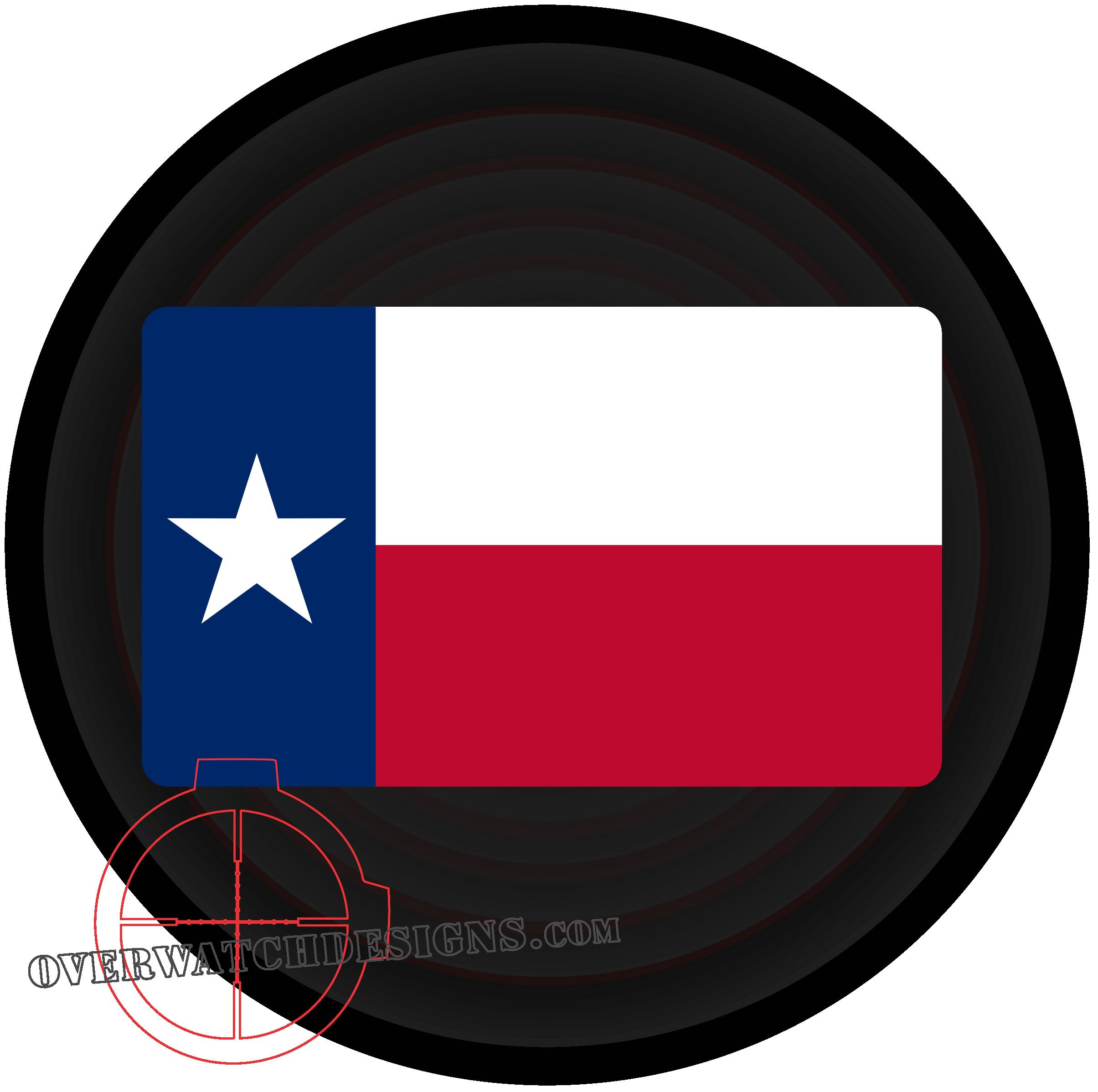2409x2396 Texas Flag